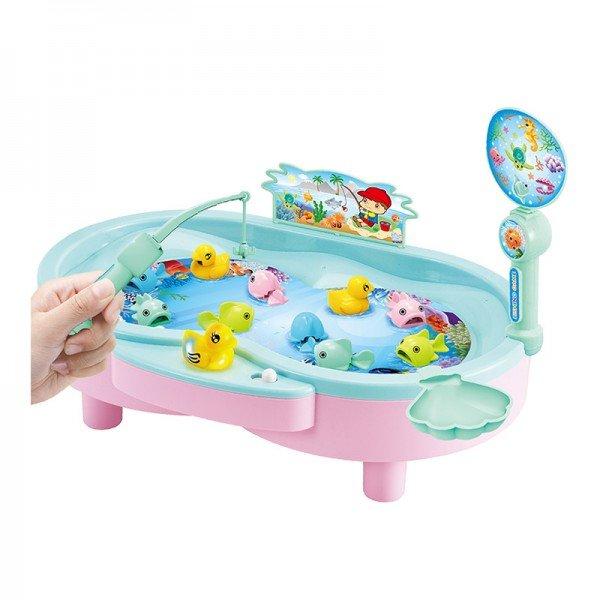 بازی ماهیگیری کودک آبی مدل 383