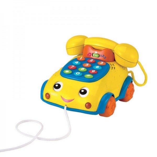تلفن موزیکال  کودک  رنگ زرد Winfun مدل 00663