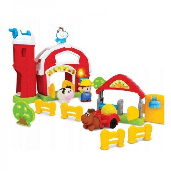 اسباب بازی موزیکال کودک طرح مزرعه با حیوانات winfun مدل 001305