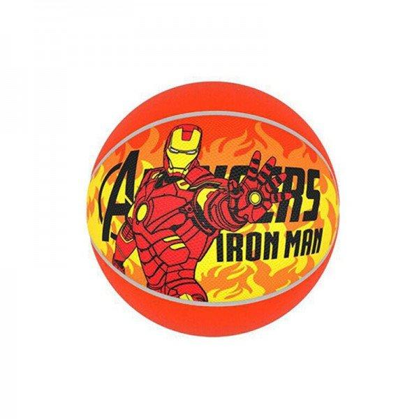 توپ بازی کودک بسکتبال نمره 5 AVENGERS مدل Iron Man