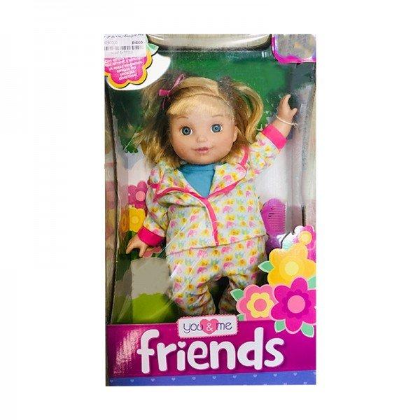 عروسک دخترانه مو طلایی مدل 61346