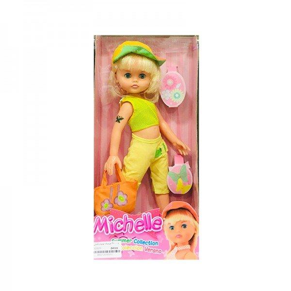 عروسک بونیتا با لباس سبز مدل 360005