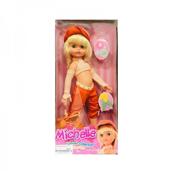 عروسک بونیتا با لباس نارنجی مدل 360005