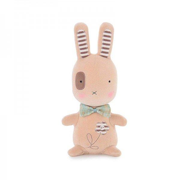 عروسک خرگوش کرم Metoo مدل JAA904