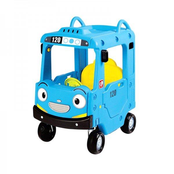 ماشین پایی کودک سقف دار طرح اتوبوس تایو مدل 5907