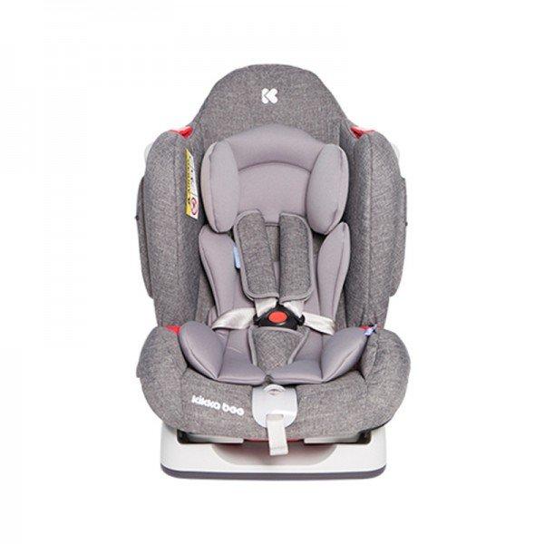 صندلی ماشین کودک KIKKA BOO مدل O'Right رنگ خاکستری روشن