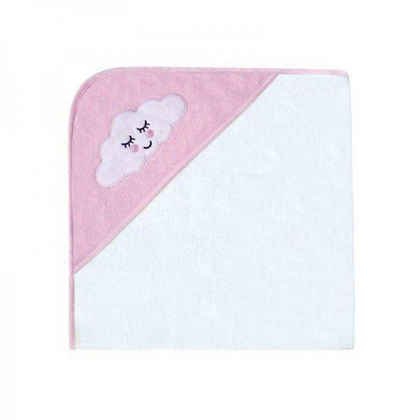 حوله تک کودک Kikka Boo مدل  Sleepy Cloud Pink کد 31104010020