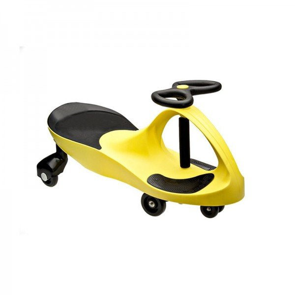 سه چرخه پلاسماکار چرخ ژله ای زرد مشکی مدل 8097