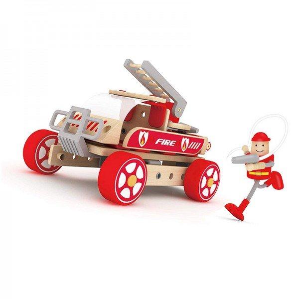اسباب بازی ماشین آتش نشانی کودک Classic World مدل 3807