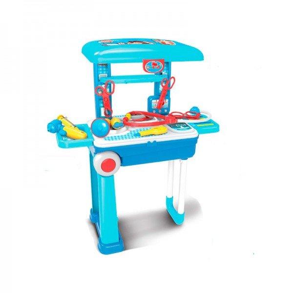 ترولی و میز پزشکی چمدانی کودک مدل 008925