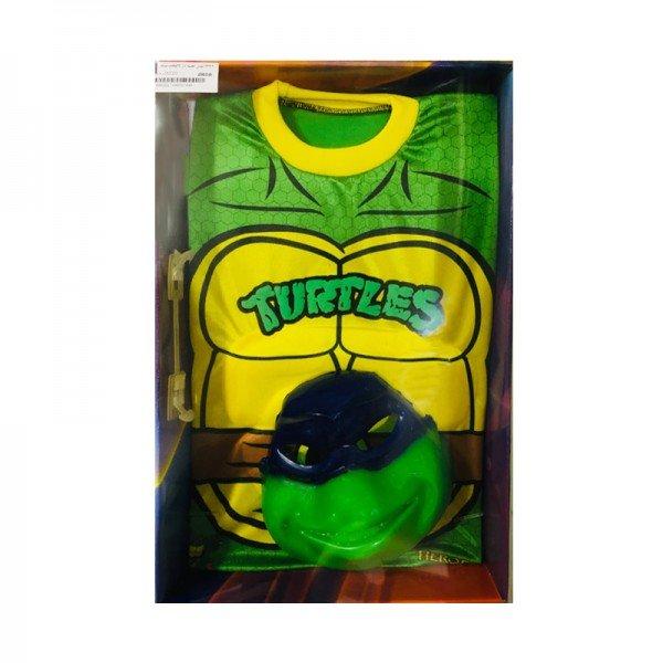لباس نمایش کودک عضله دار لاکپشت نینجا مدل 7449