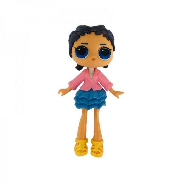 فیگور دخترک با لباس صورتی آبی Lol Surprise مدل 0280