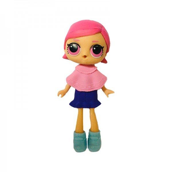 فیگور دخترک با لباس صورتی بنفش  Lol Surprise مدل 0280