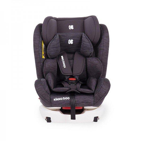 صندلی ماشین کودک KIKKA BOO مدل 4Fix Dark Grey Melange