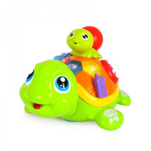 اسباب بازی موزیکال طرح لاک پشت موزیکال Huile Toys مدل 868