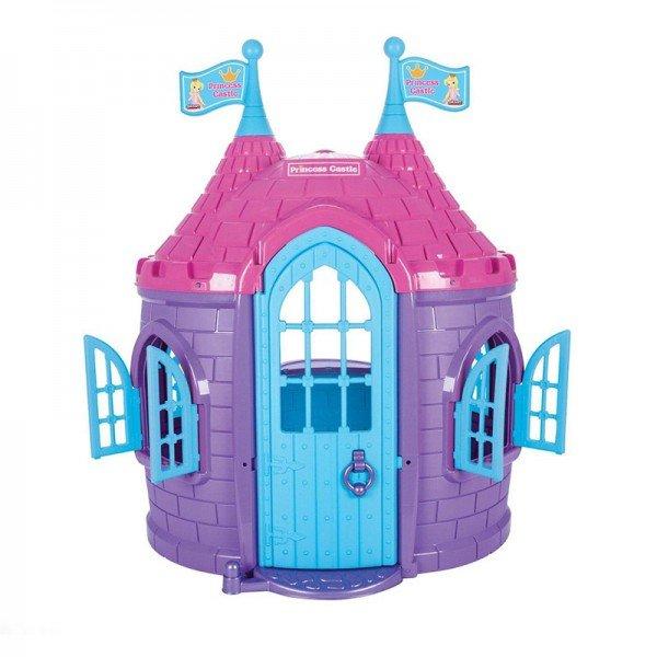 کلبه کودک بزرگ قصر دخترانه مدل 07963