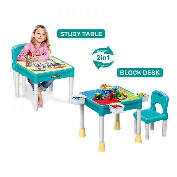 میز لگو بازی با صندلی مدل 8569