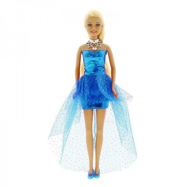 عروسک دفا با لباس آبی مدل 8354