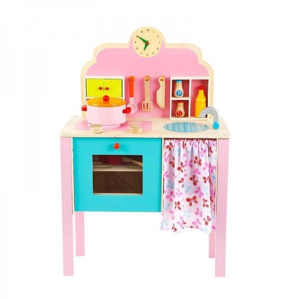 آشپزخانه کودک با لوازم بازی 10 تکه مدل 2894