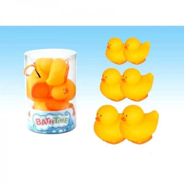 اسباب بازی حمام کودک پوپت وان اردک 6 عددی مدل CQS61014