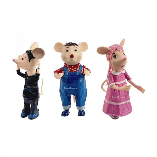 فیگور شهر موشها 3 عددی مدل 3004