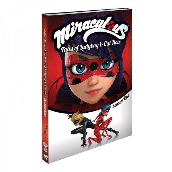 دختر کفشدوزکی دی وی دی Miraculous ladybug 1 DVD