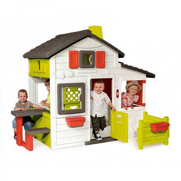 کلبه بازی کودک دوبلکس smoby مدل 310209