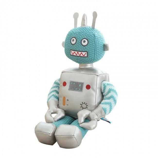 عروسک پولیشی ربات آبی کوچک مدل 1065