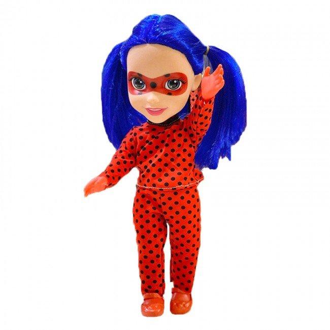 عروسک دخترانه دختر کفشدوزکی بزرگ موزیکال  مدل 9289