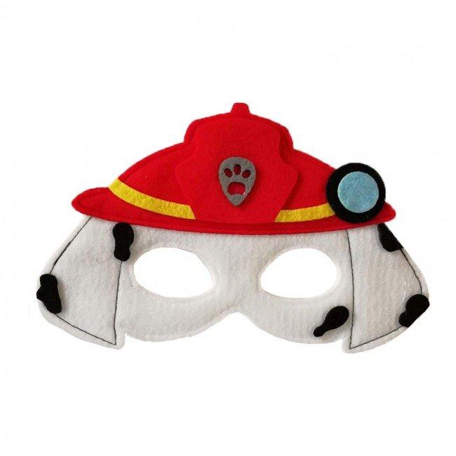 ماسک نمدی کودک سگ های نگهبان طرح Marshal پاوپاترول مدل 3516