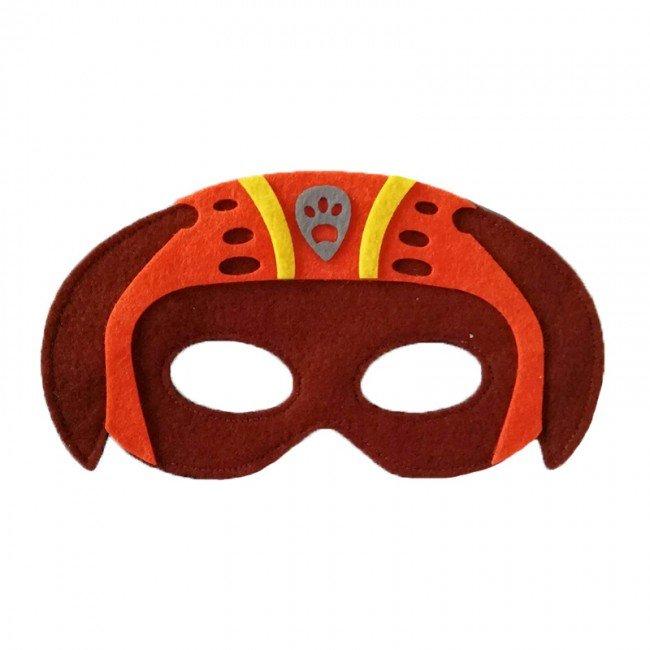 ماسک نمدی کودک سگ های نگهبان طرح Zuma پاوپاترول مدل 3516