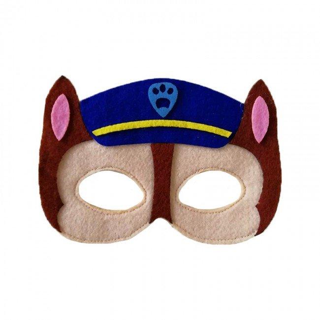 ماسک نمدی کودک سگ های نگهبان طرح Chase پاوپاترول مدل 3516