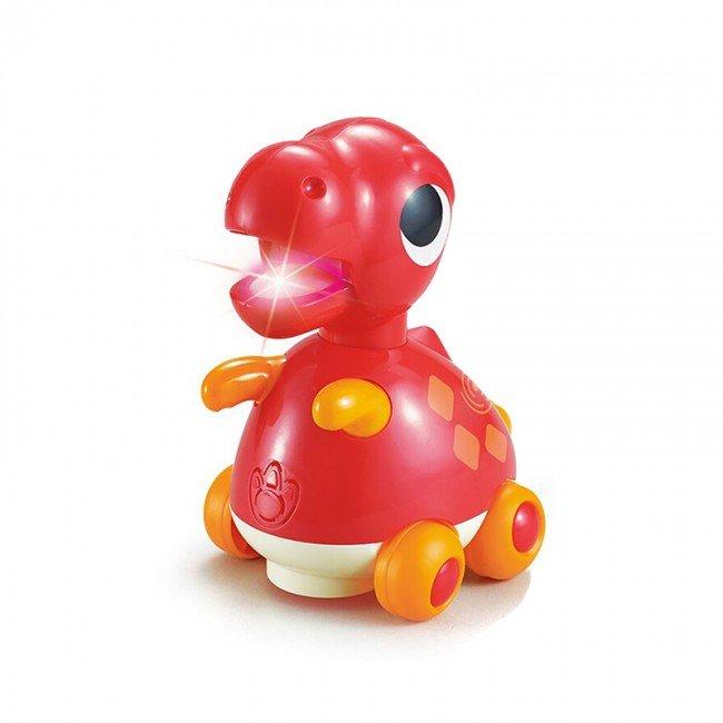 اسباب بازی موزیکال طرح دایناسور قرمز Huile Toys مدل 6110