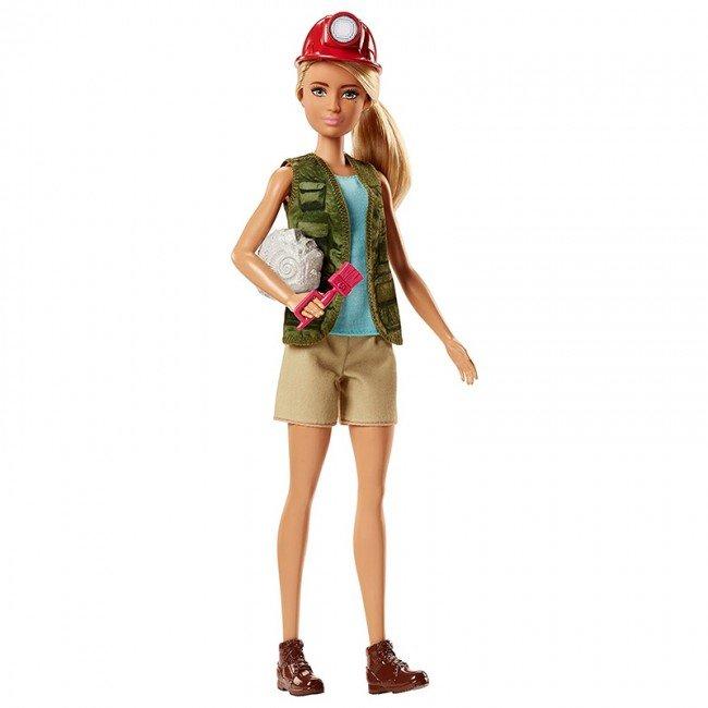عروسک دخترانه باربی باستان شناس مدل DVF50