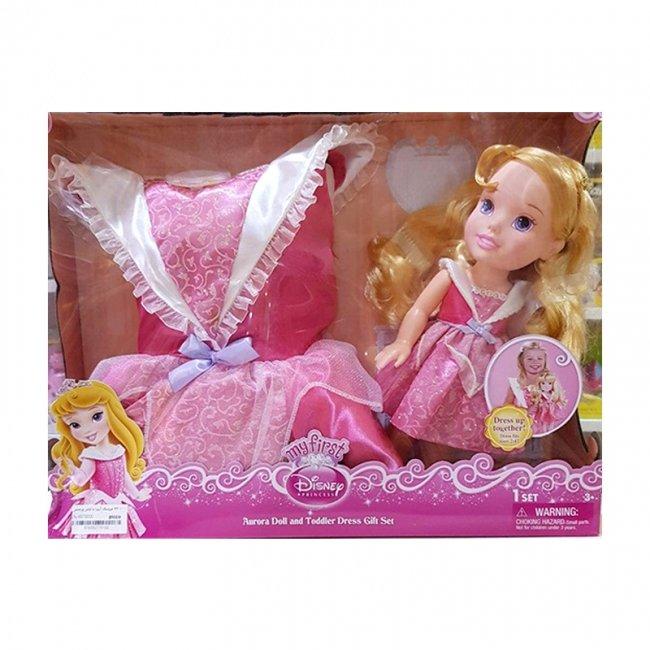 عروسک دخترانه آرورا با لباس مدل 77010