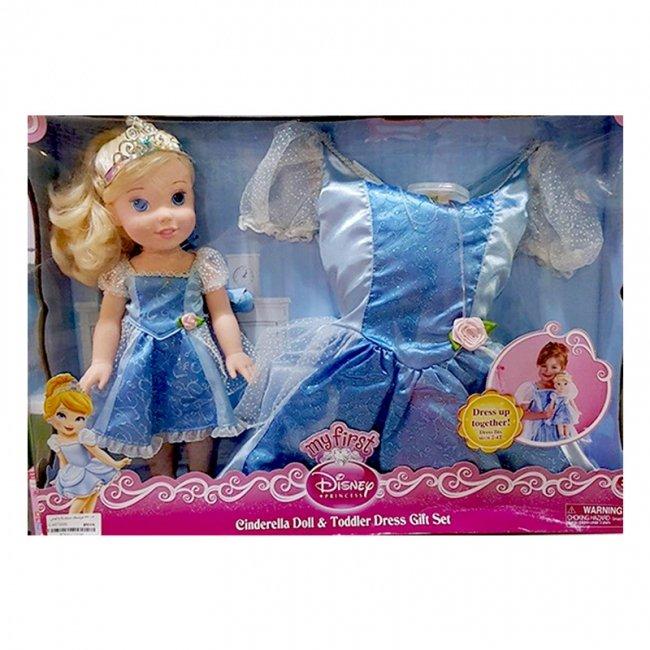 عروسک دخترانه سیندرلا با لباس پرنسس مدل 77014