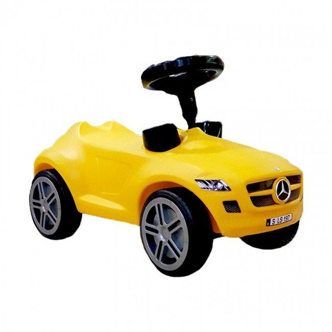 ماشین پایی بنز زرد مدل 1514