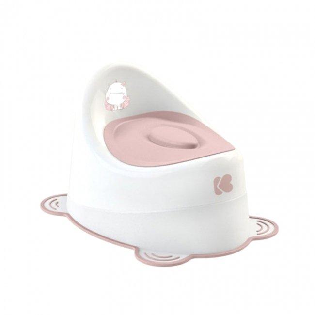 توالت فرنگی کودک (قصری) با درب جدا شونده صورتی Kikka Boo مدل 318363