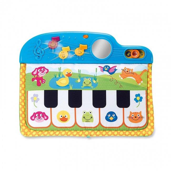 پیانو اسباب بازی و آویز تخت موزیکال کودک Winfun مدل 00217