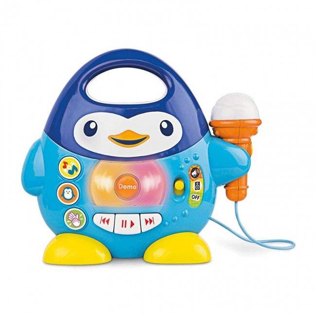 میکروفون اسباب بازی موزیکال طرح پنگوئن winfun مدل 002514
