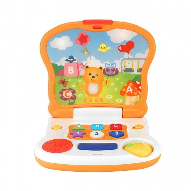 لپ تاپ آموزشی کودک طرح خرس  Winfun مدل 008079