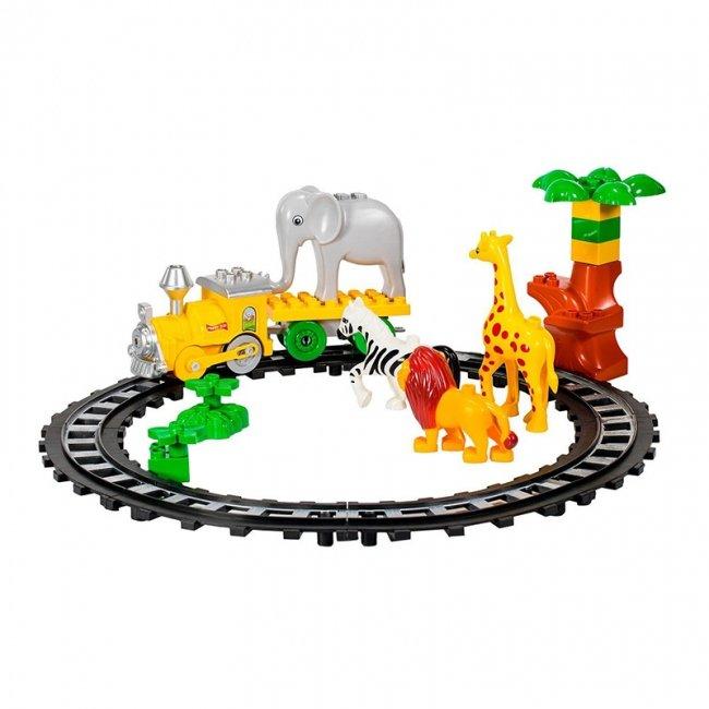 لگو موزیکال قطار کودک طرح باغ وحش مدل 222H57