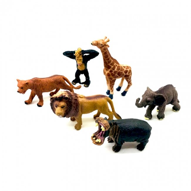 فیگور حیوانات جنگل 6 عددی مدل  6226203