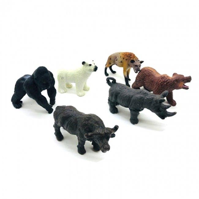 فیگور حیوانات جنگل 6 عددی مدل  6226203A