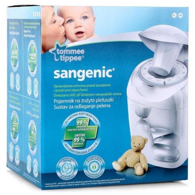 سطل بسته بندی پوشک آنتی باکتریال tommee_tippee sangenic کد84001402