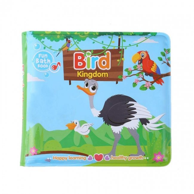 کتاب حمام کودک طرح پرندگان مدل 0957