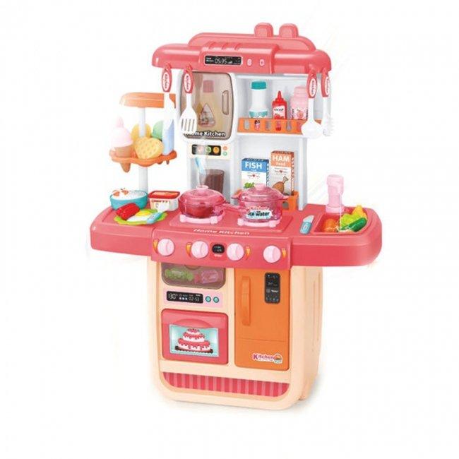 آشپزخانه کودک موزیکال با سینک و گاز مدل WDP33