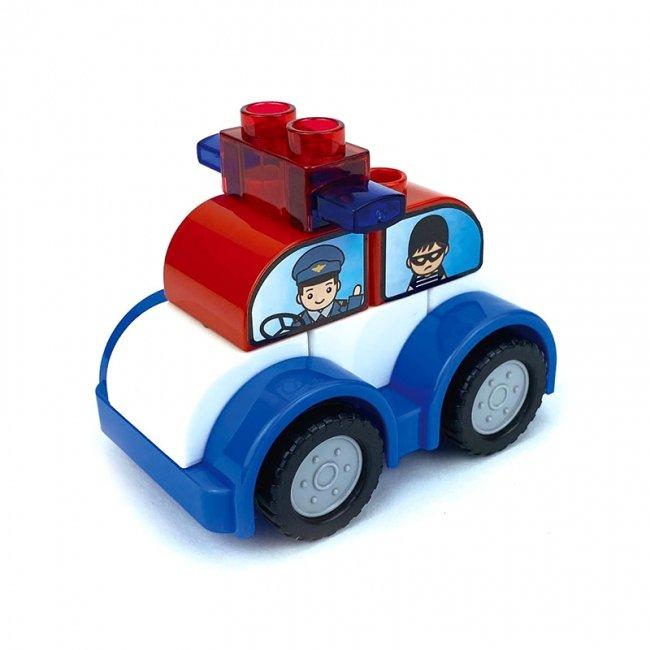 لگو ماشین کودک طرح پلیس مدل 222H149