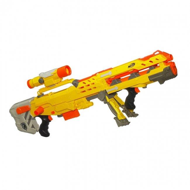 تفنگ اسباب بازی نرف  لانگ شات مدل 2704