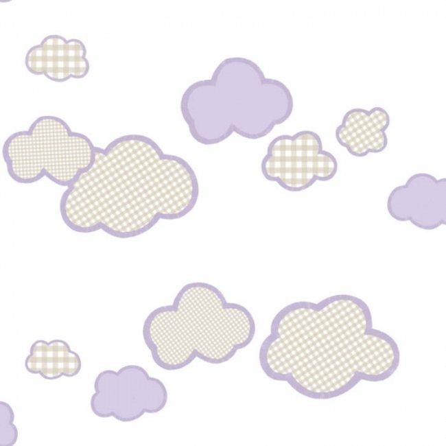 کاغذ دیواری بیمبی طرح ابر 1302